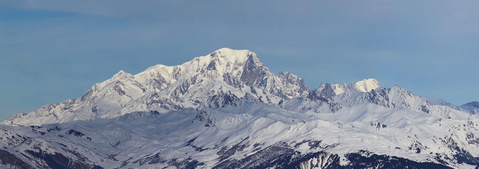 La cara sud del Mont Blanc