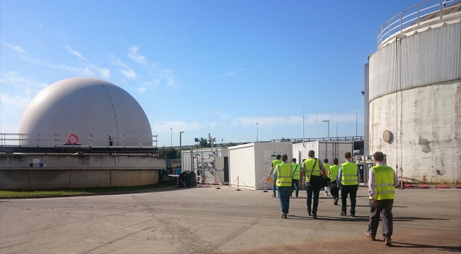 L'EDAR de Riu-sec, on s'ha desenvolupat la prova pilot del projecte