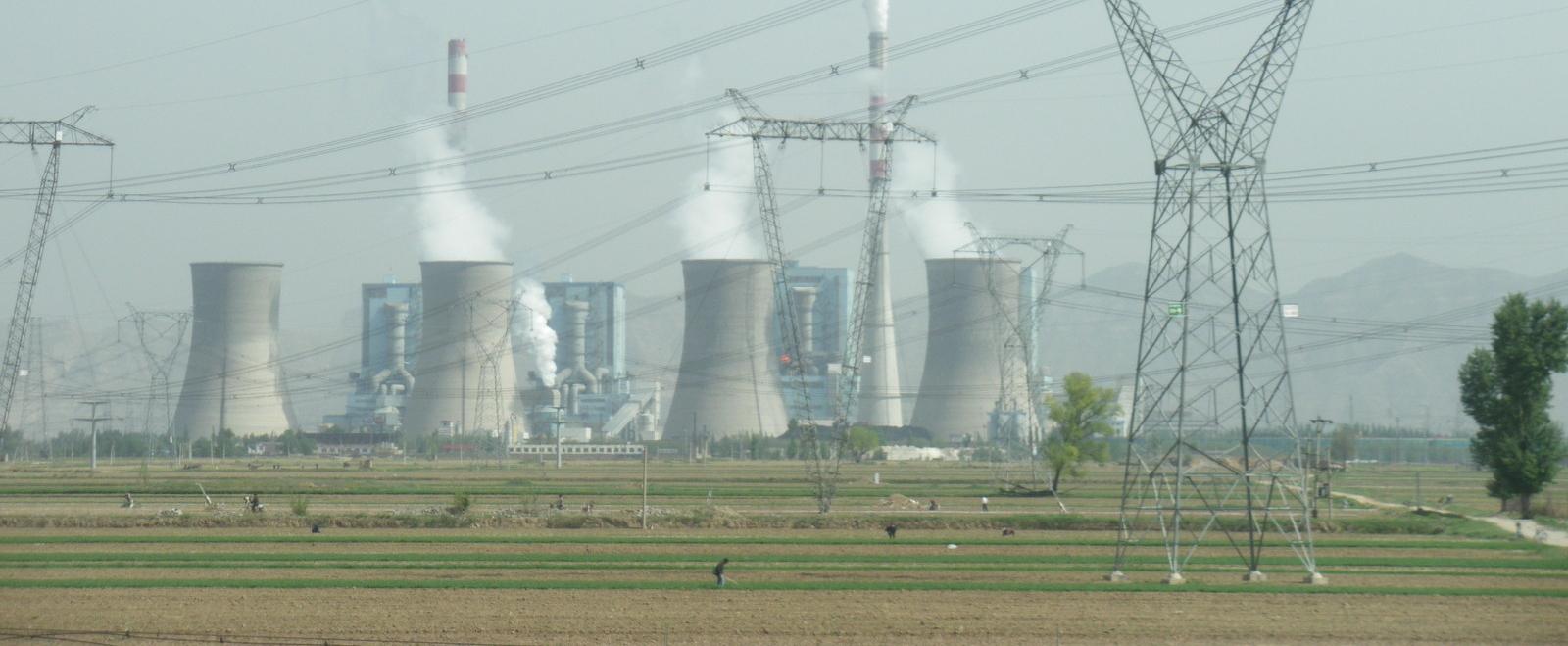 Central d'energia tèrmica a la Xina
