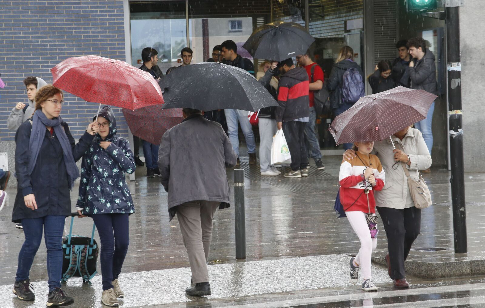 Pluja intensa aquest dimarts a Terrassa