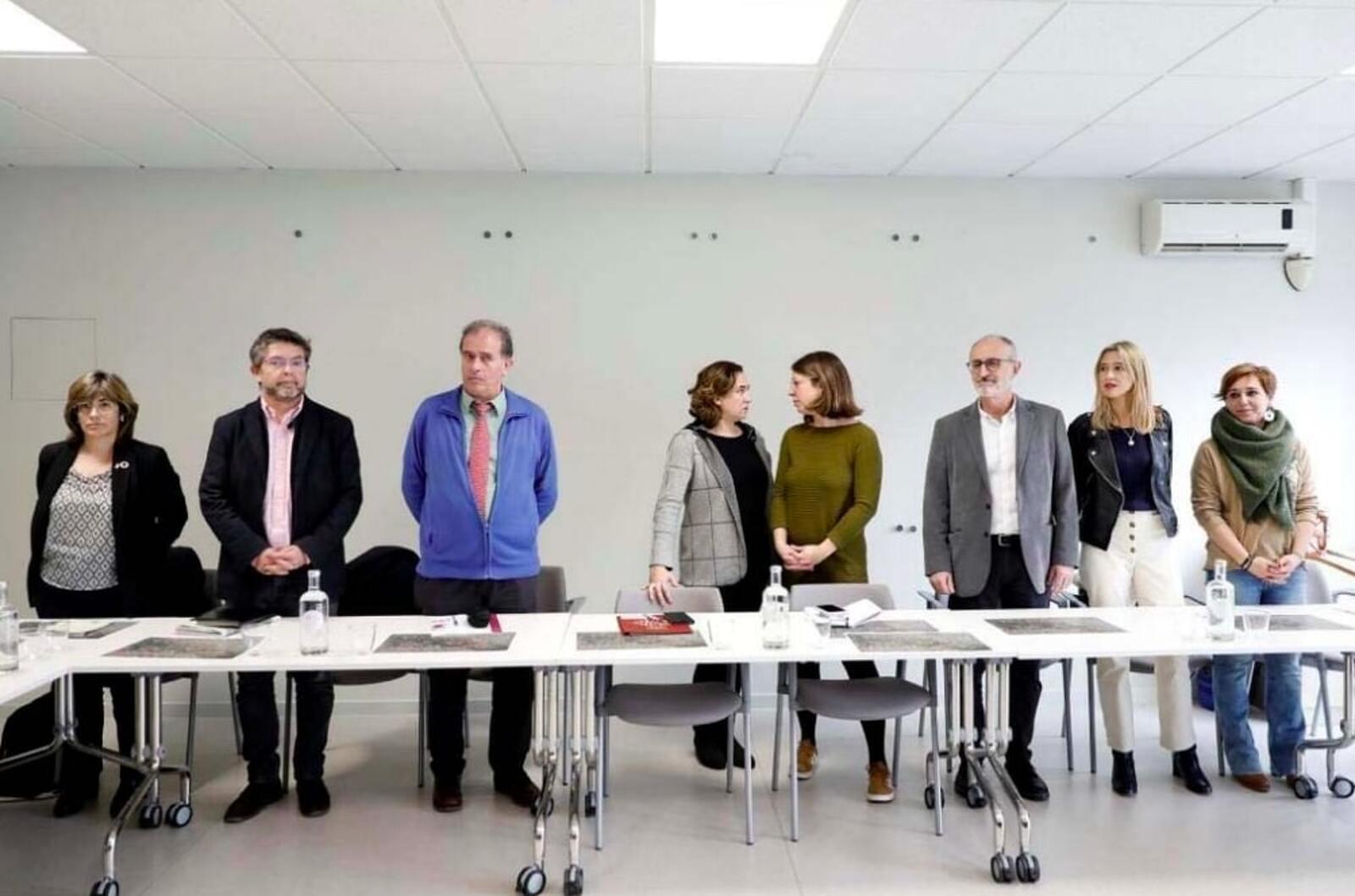 Reunió d'administracions per fer front a la crisi del riu Besòs