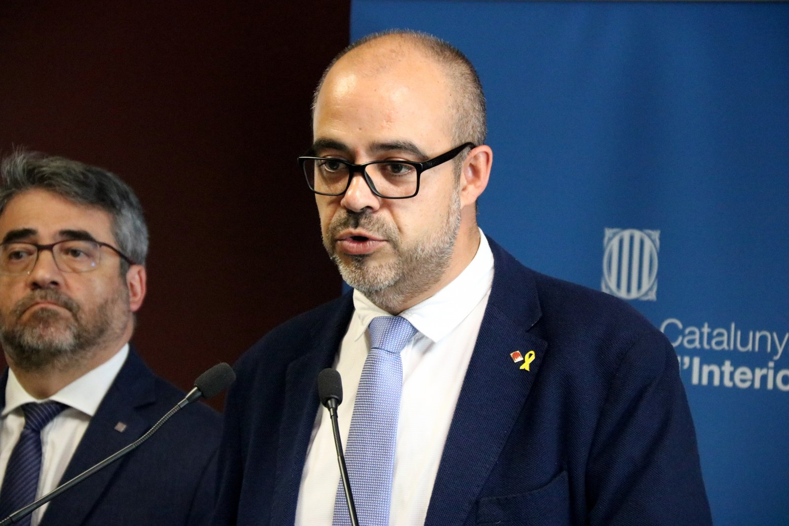 Miquel Buch, conseller d'Interior