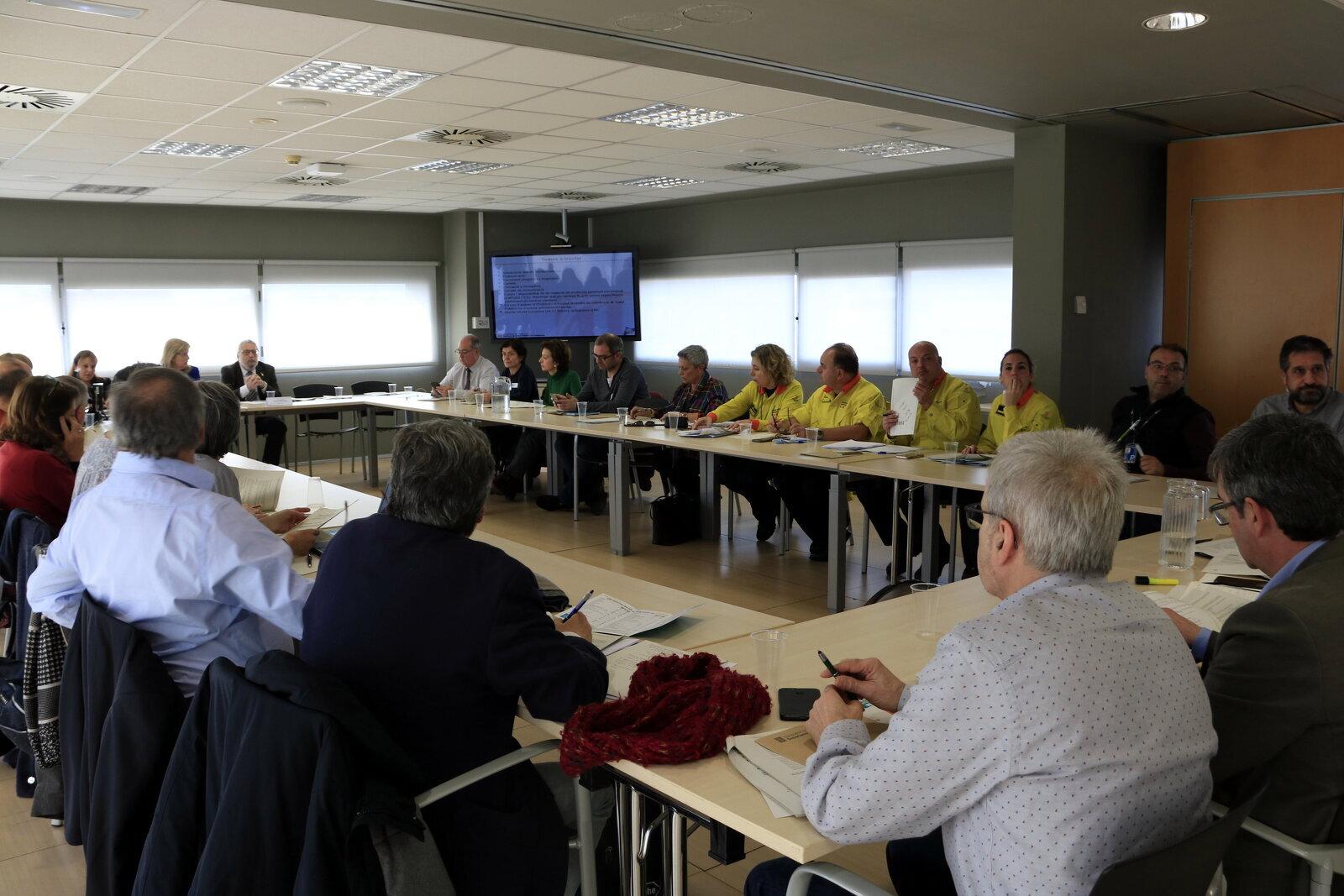 Reunió del Comitè d'Anàlisi i Seguiment de Malalties Transmissibles Emergents d'Alt Risc a l'Agència de Salut Pública de Catalunya