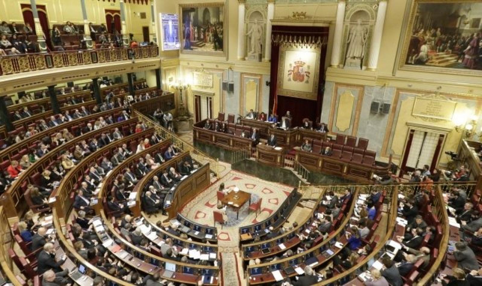 El Congres dels Diputats a Madrid