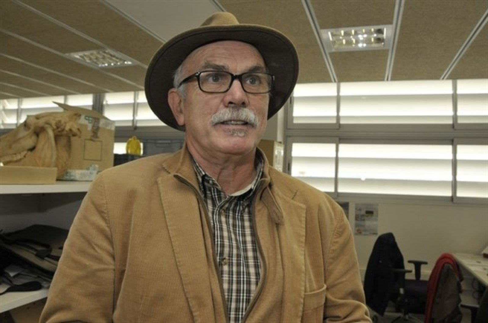 L'arqueòleg Eudald Carbonell