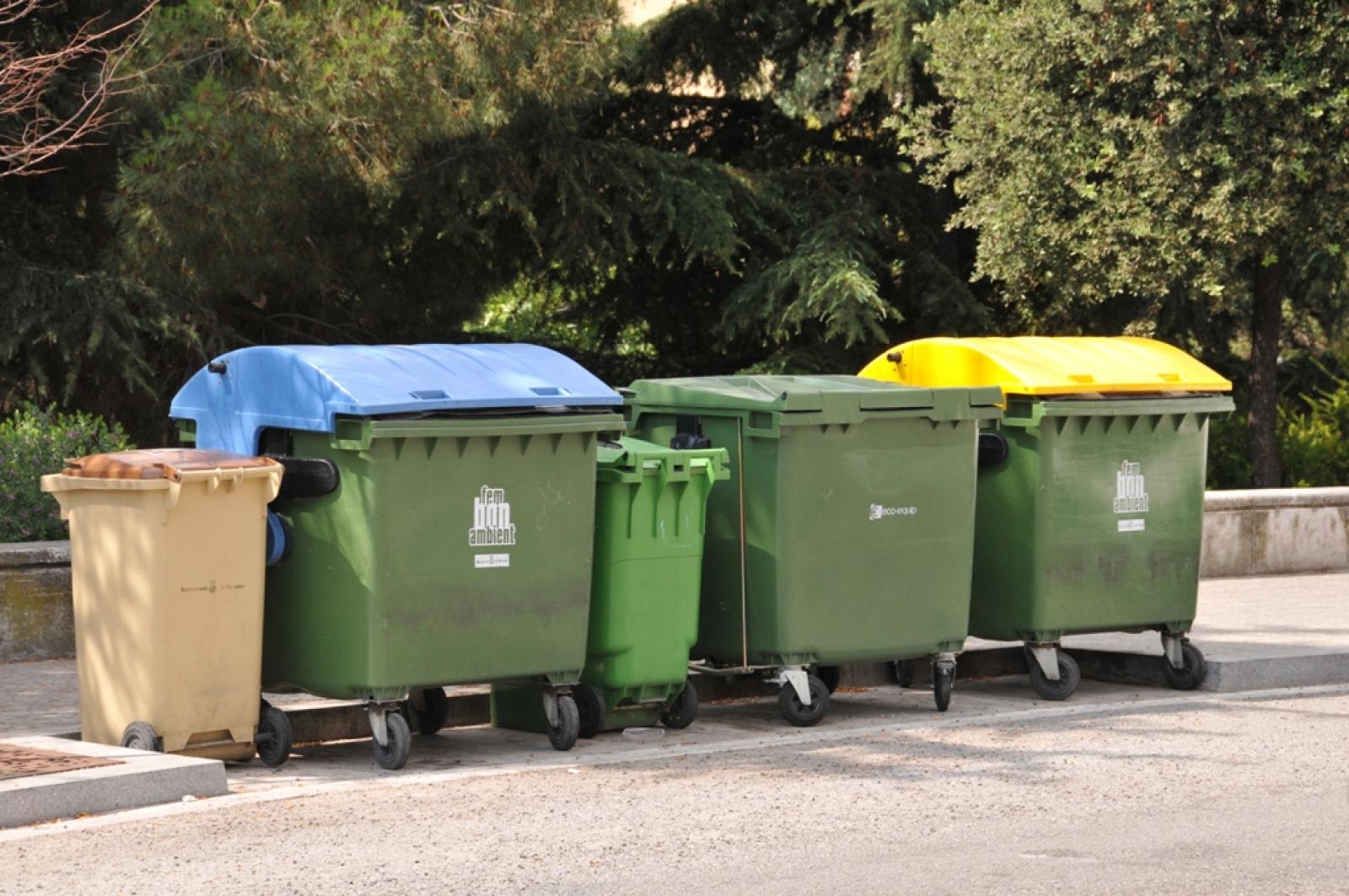 Bateria de contenidors a Terrassa