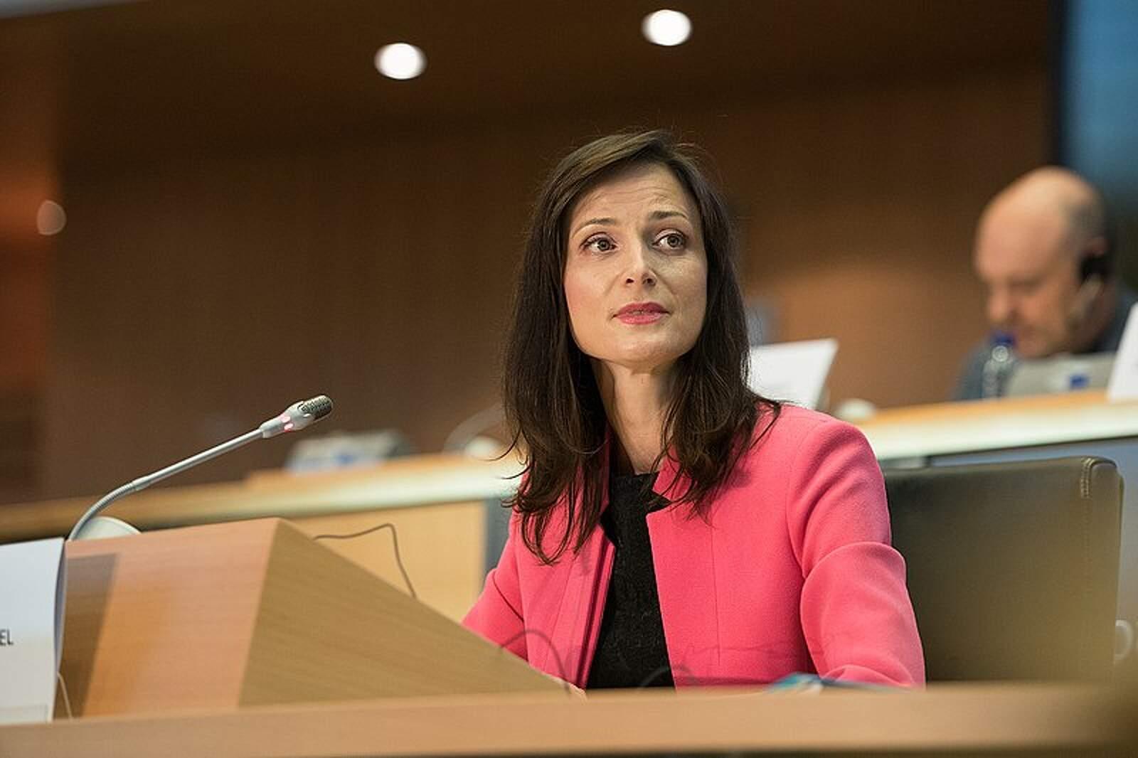 La comissària d'Innovació, Recerca, Cultura, Educació i Joventut, Mariya Gabriel