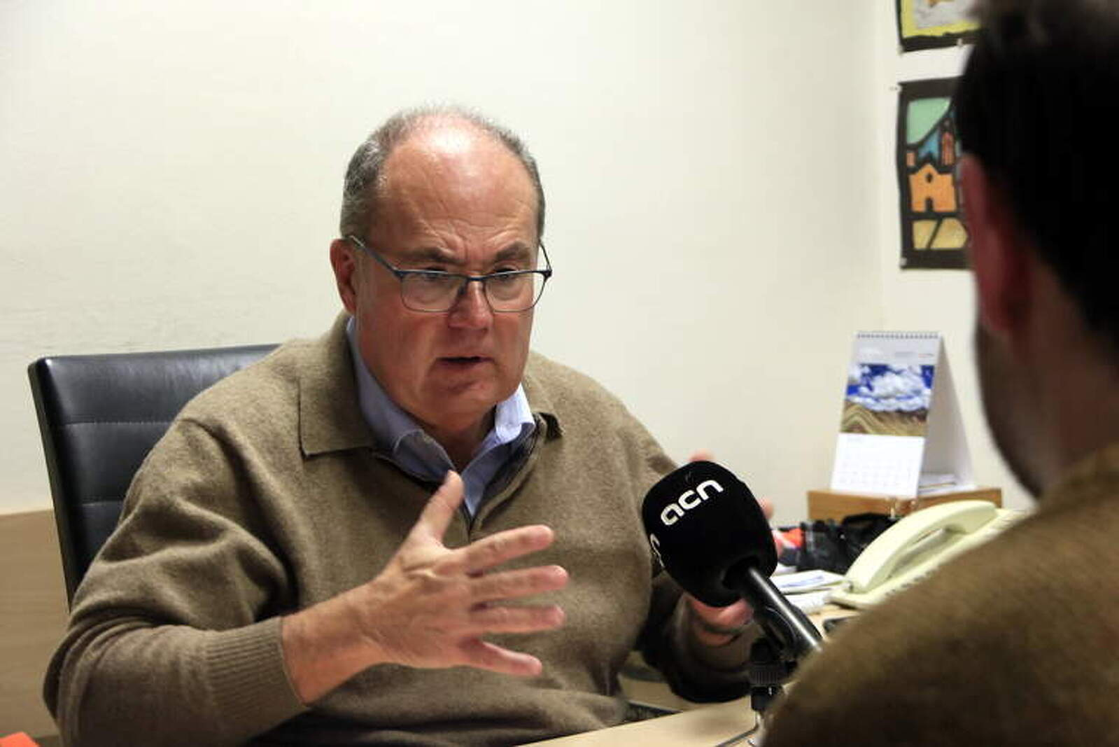 El cap del Servei de Medicina Preventiva i Epidemiologia de l'Hospital Clínic de Barcelona, el doctor Antoni Trilla