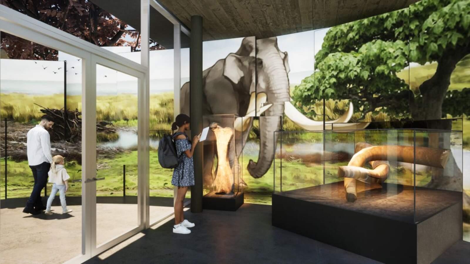 Imatge virtual del projecte de centre d'interpretació