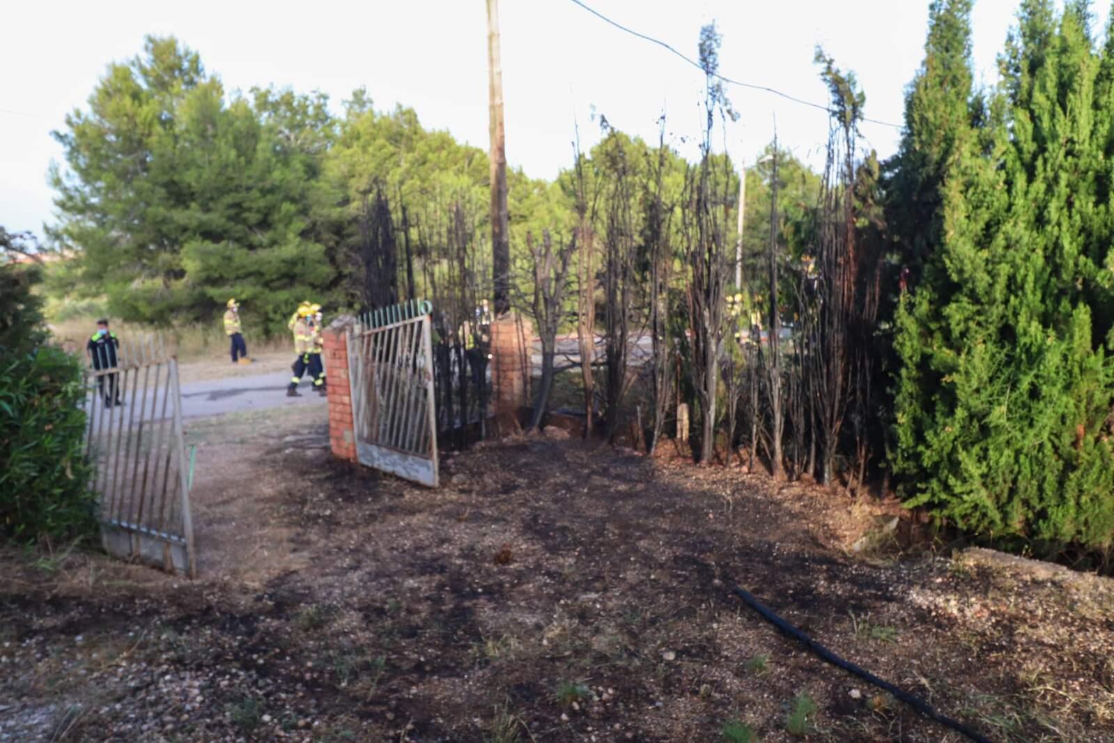 Incendi forestal a la zona de Can Pepet de Viladecavalls