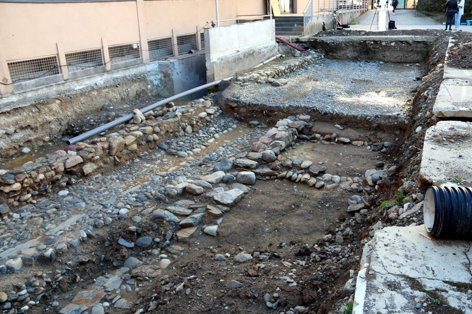 El nou jaciment arqueològic trobat a la Seu d'Urgell