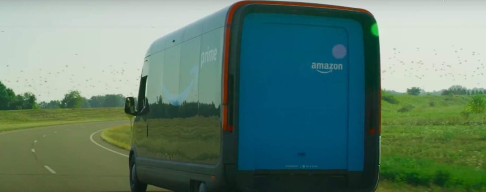 El vehicle elèctric de repartiment que Amazon ha desenvolupat juntament amb Rivian
