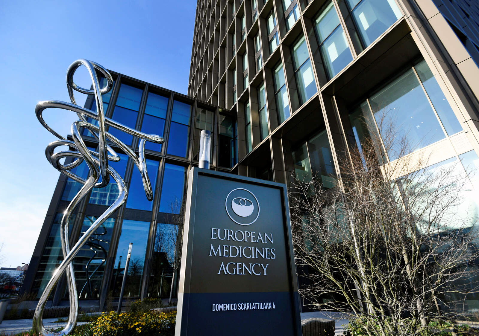 La seu de l'Agència Europea del Medicament, a Amsterdam