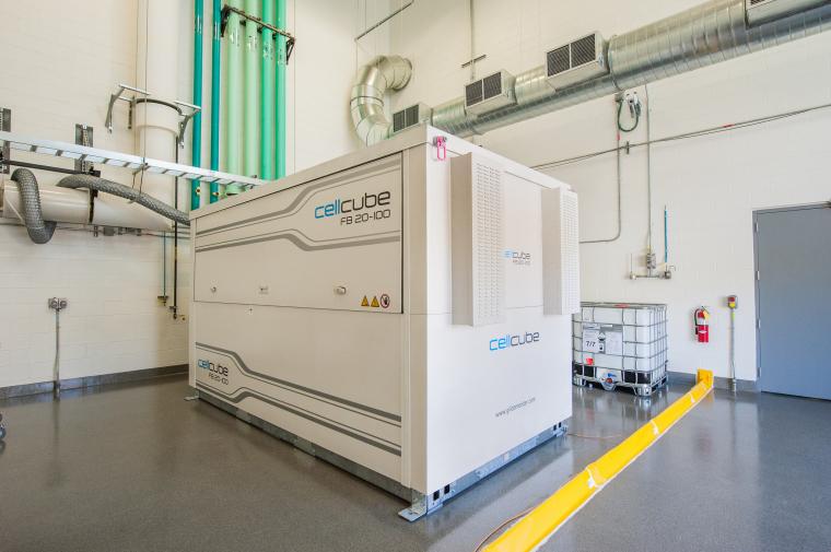 Bateria de flux de vanadi al Laboratori Nacional d'Energies Renovables dels Estats Units  | Departament d'Energia dels Estats Units