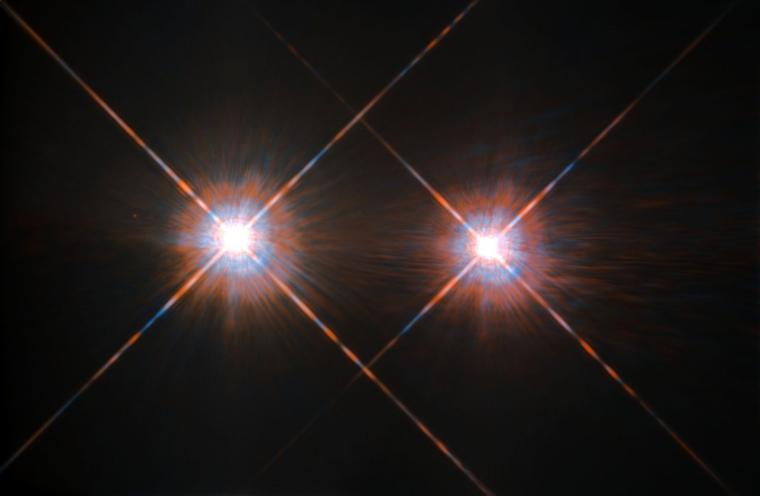 Alfa i Beta Centauri vistes pel Telescopi Espacial Hubble  | NASA / ESA