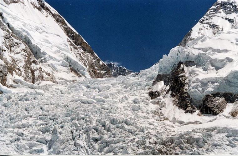 La glacera Khumbu s'està fonent ràpidament  | Uwe Gille (CC)