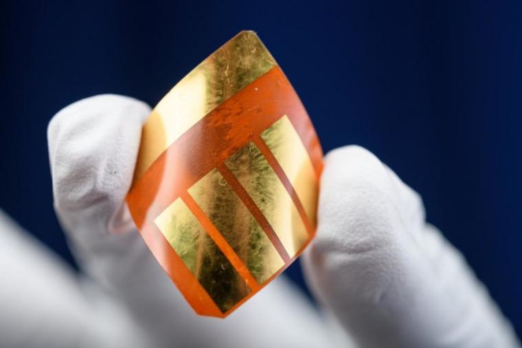 Una cèl·lula solar de perovskita  | Rob Felt - Georgia Tech