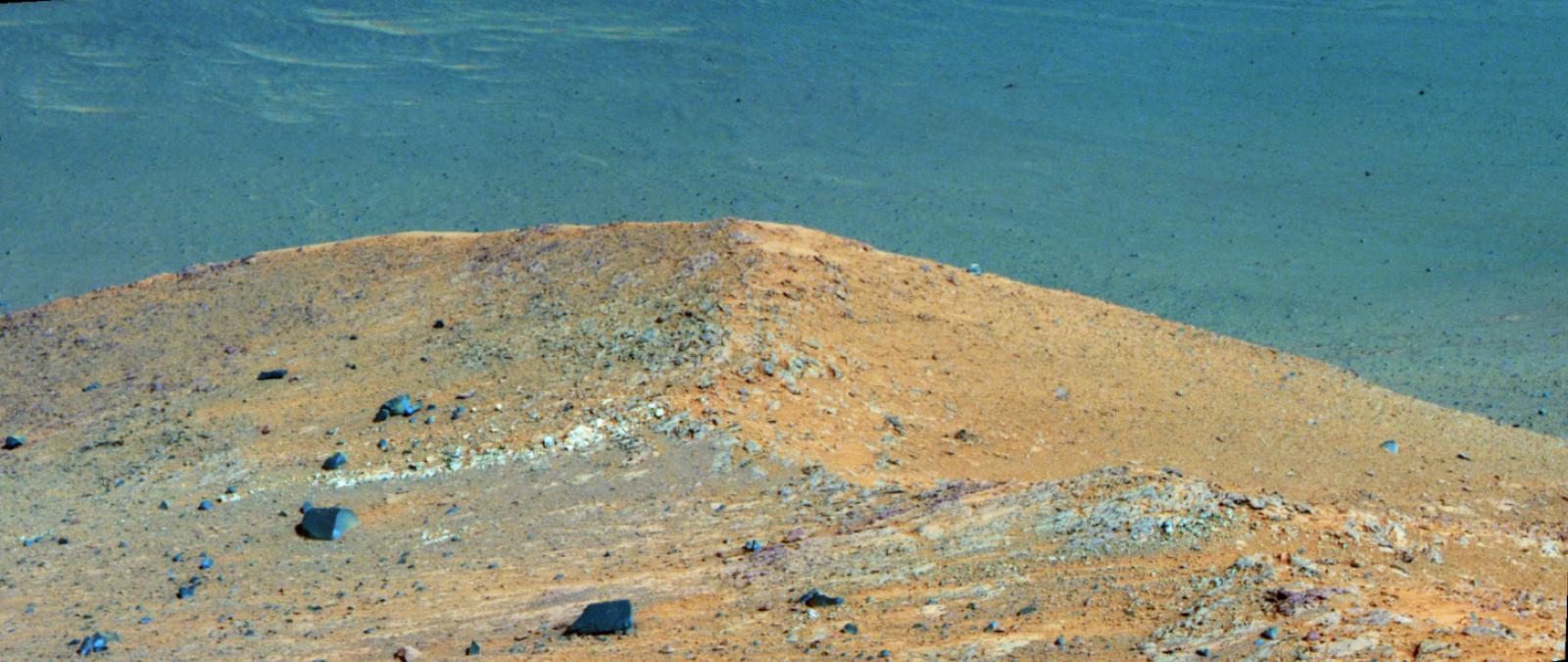 Composició de dues imatges del terra àrid de Mart captades per l'Opportunity    NASA