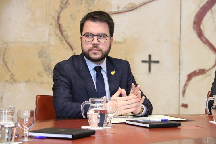 El vicepresident del Govern i conseller d'Economia, Pere Aragonès  | ACN
