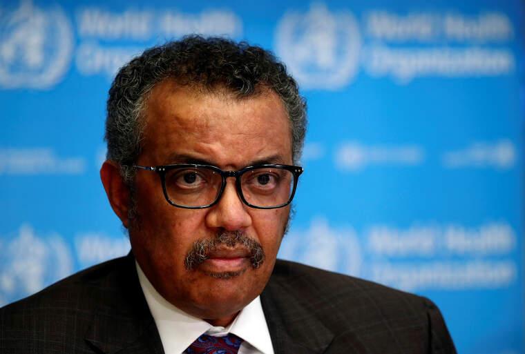 El director general de l'Organització Mundial de la Salut (OMS) Tedros Adhanom Ghebreyesus  | ACN