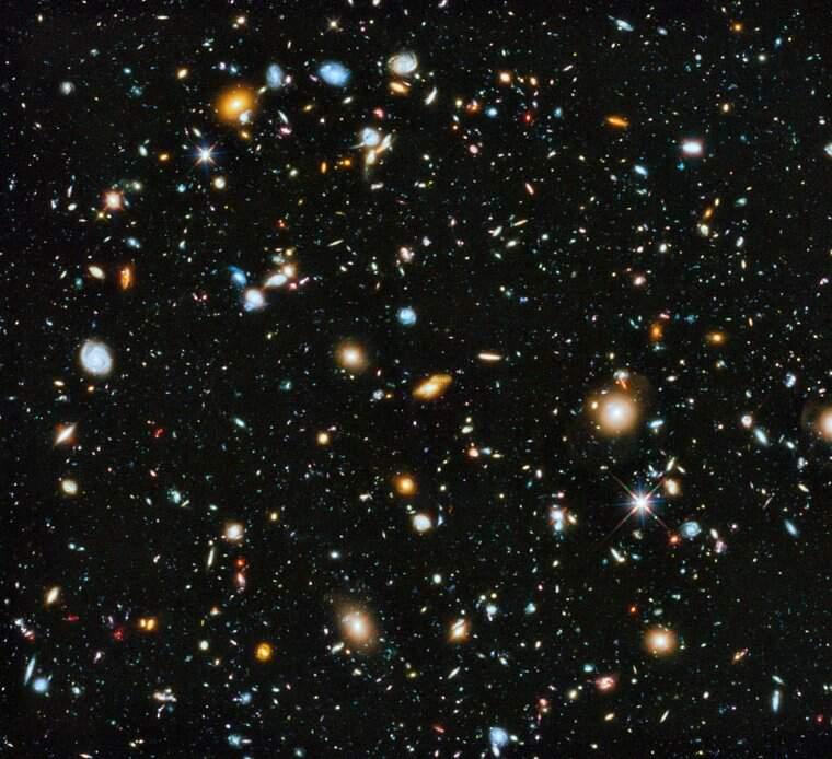 Imatge de l'espai profund captada pel telescopi espacial Hubble  | NASA