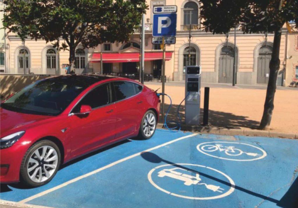 Punt de recàrrega per a vehicles elèctrics  | Diputació de Girona