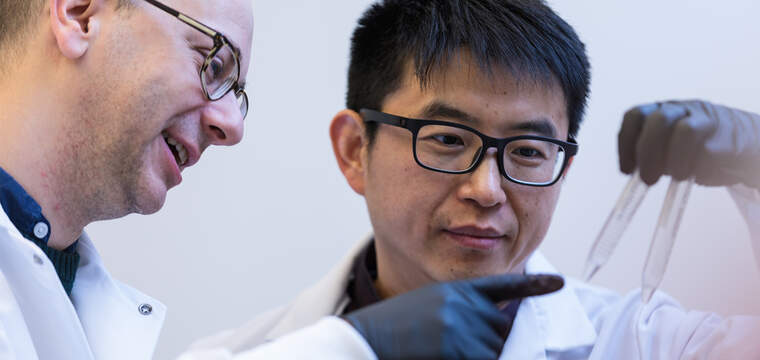 Investigadors en un laboratori de Moderna  | Moderna