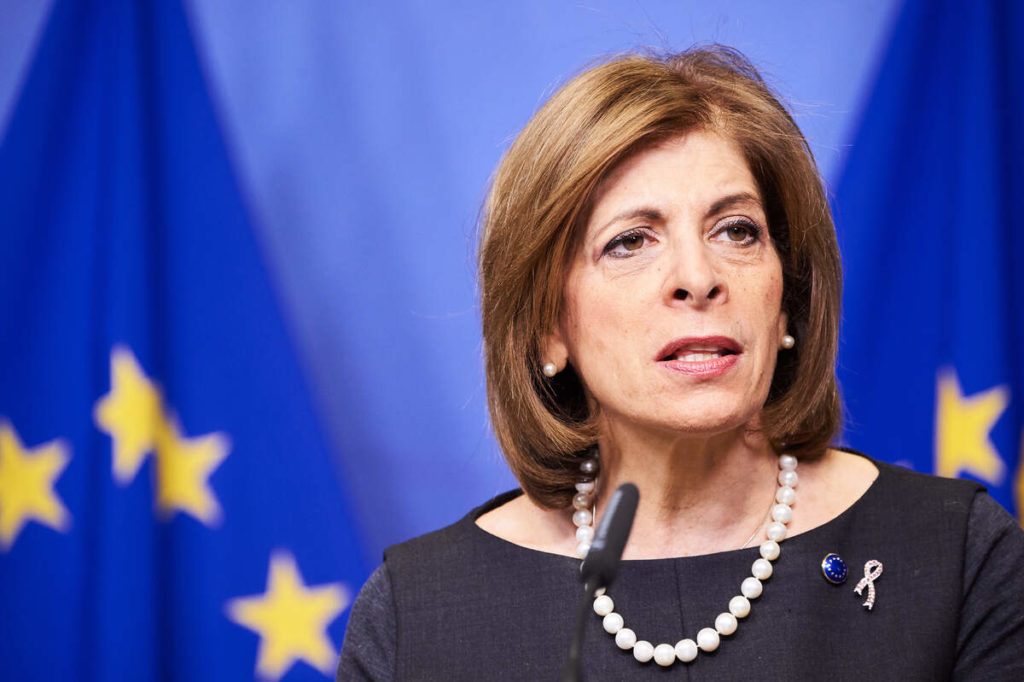L'eurocomissària de Salut, Stella Kyriakides  | ACN