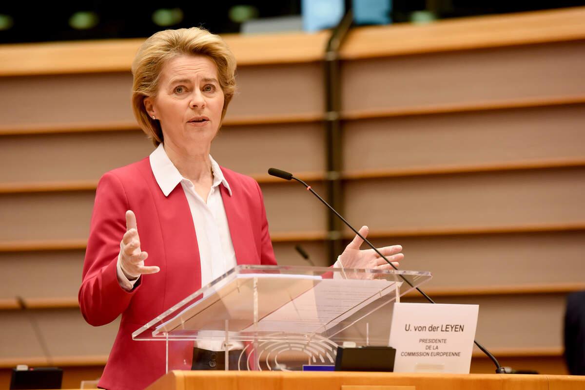 La presidenta de la Comissió Europea, Ursula von der Leyen  | ACN