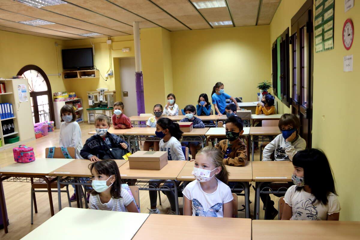 Una classe d'escola    ACN