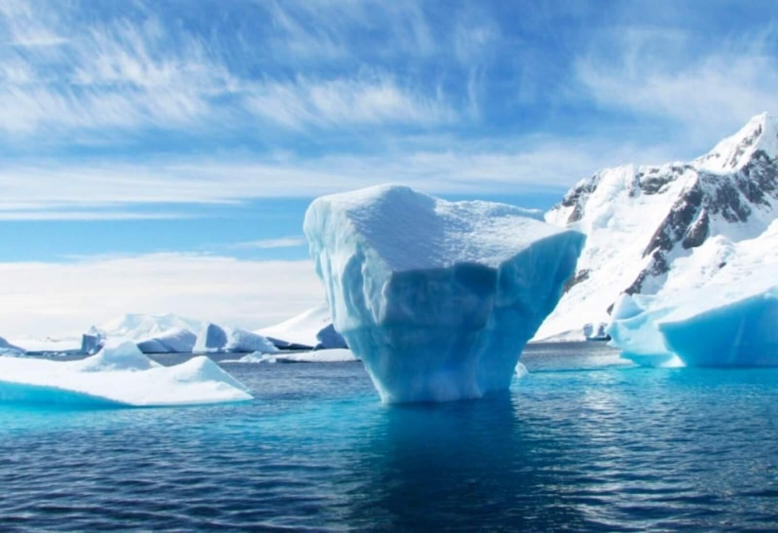 Fusió del gel de l'Antàrtida a causa de l'escalfament global