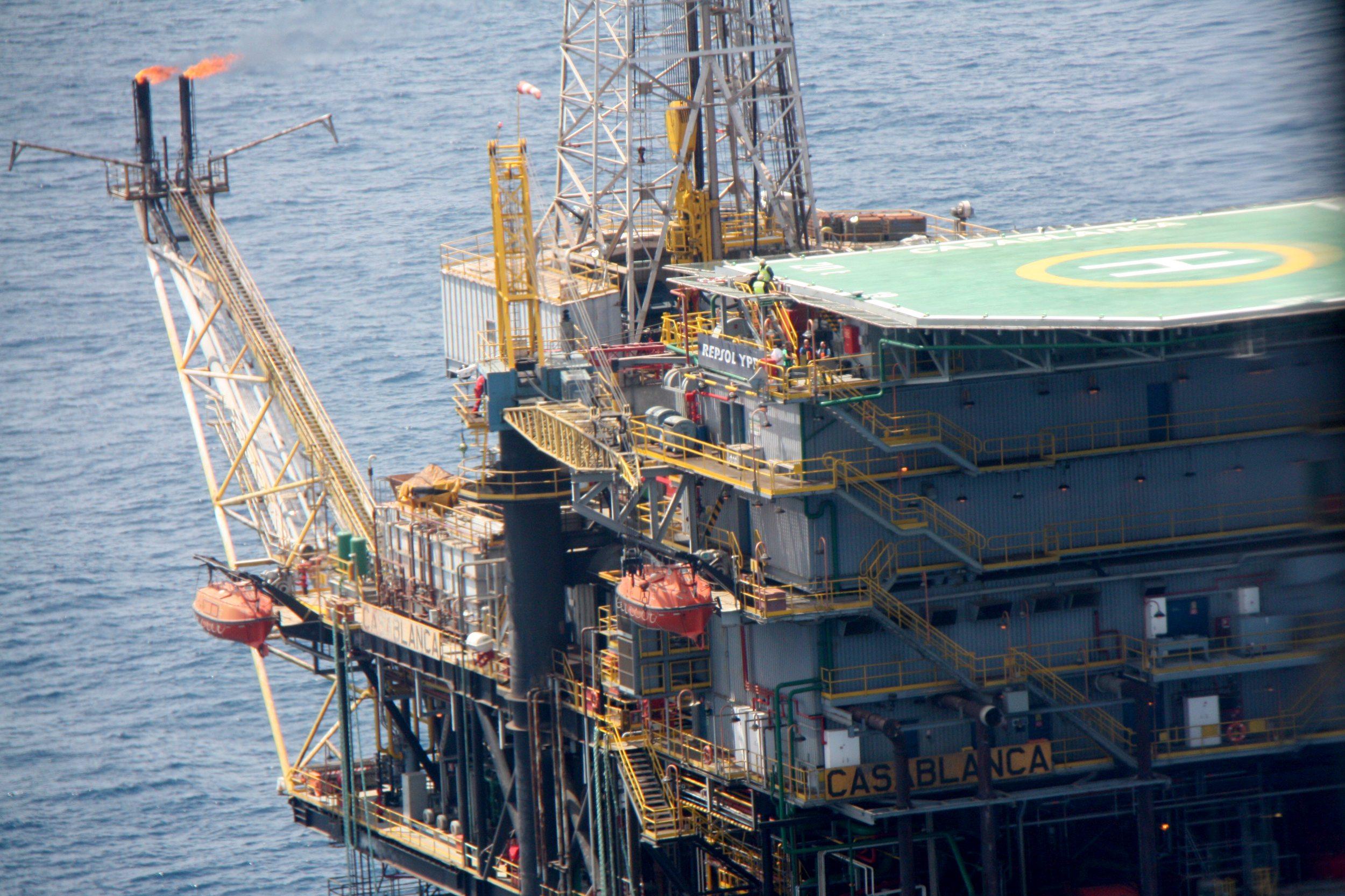 Les instal·lacions de la plataforma petrolífera Casablanca   ACN