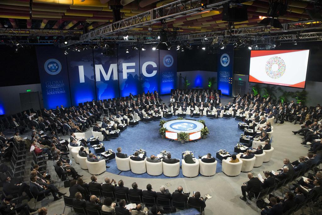 Reunió del Fons Monetari Internacional   FMI