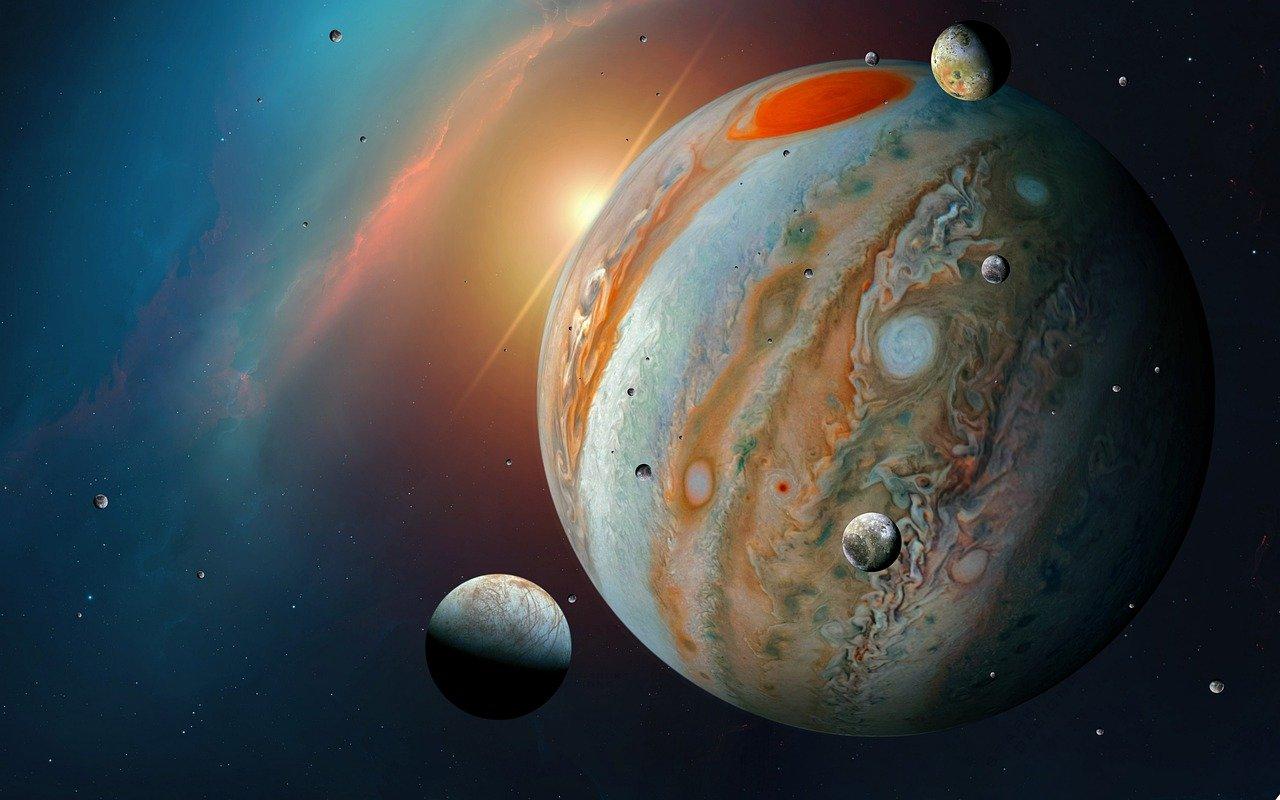 Júpiter i els seus satèl·lits | Pixabay