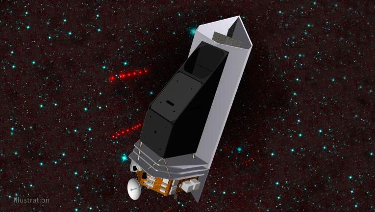 Representació artística del NEO Surveyor | NASA