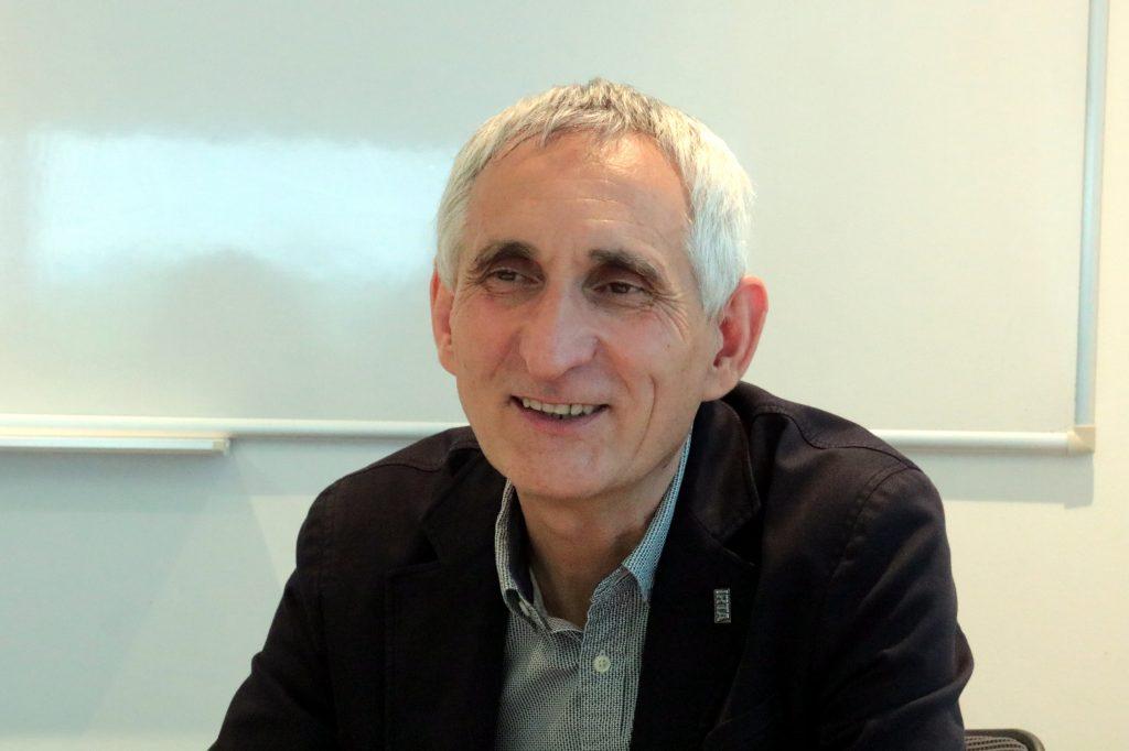 Josep Usall durant l'entrevista amb l'ACN  ACN