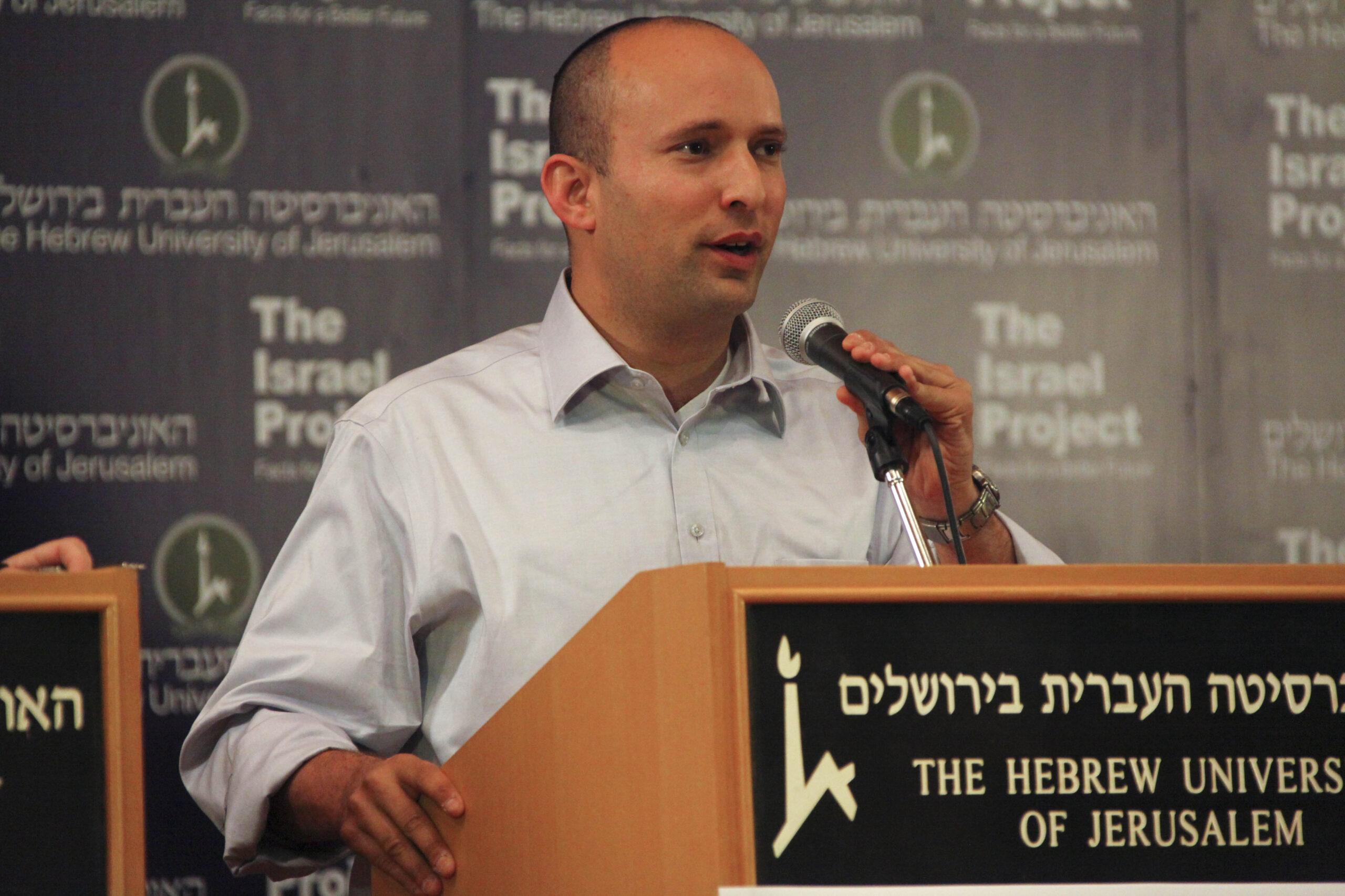 El primer ministre d'Israel, Naftali Bennett | Wikimedia Commons