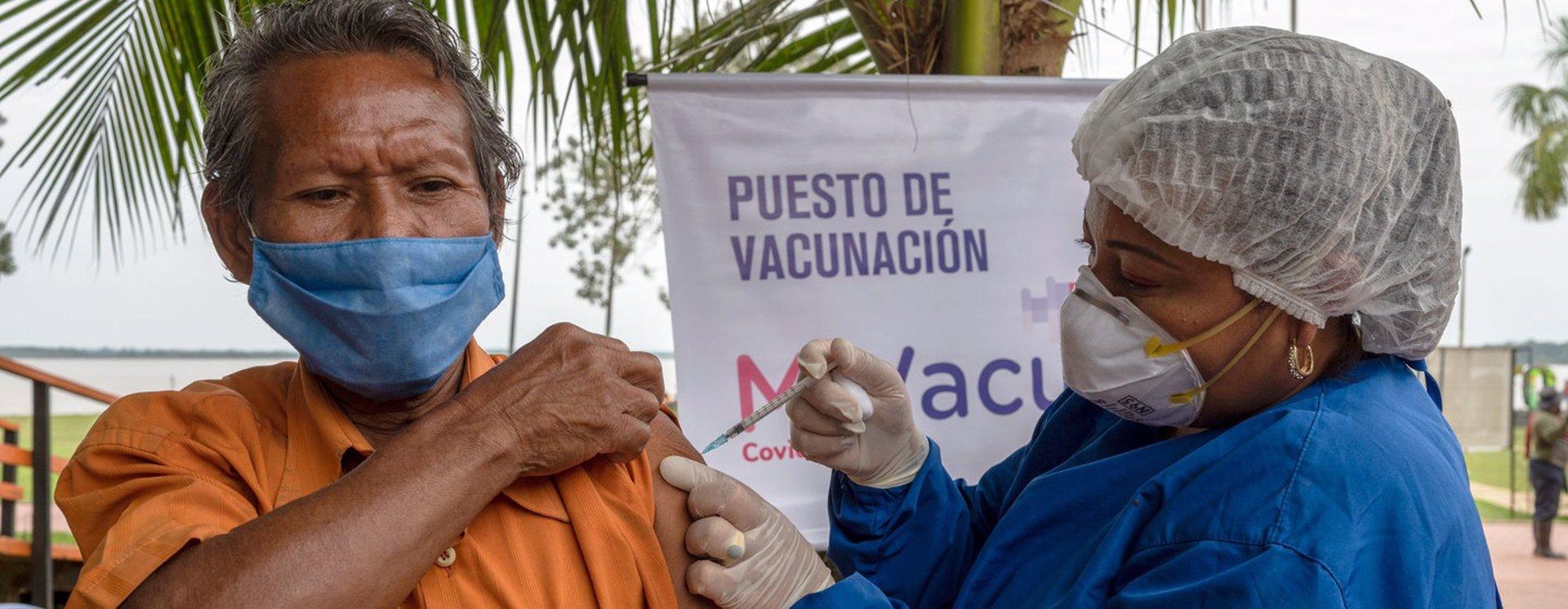 Vacunació contra la Covid als pobles indígenes de l'Amazones | EP
