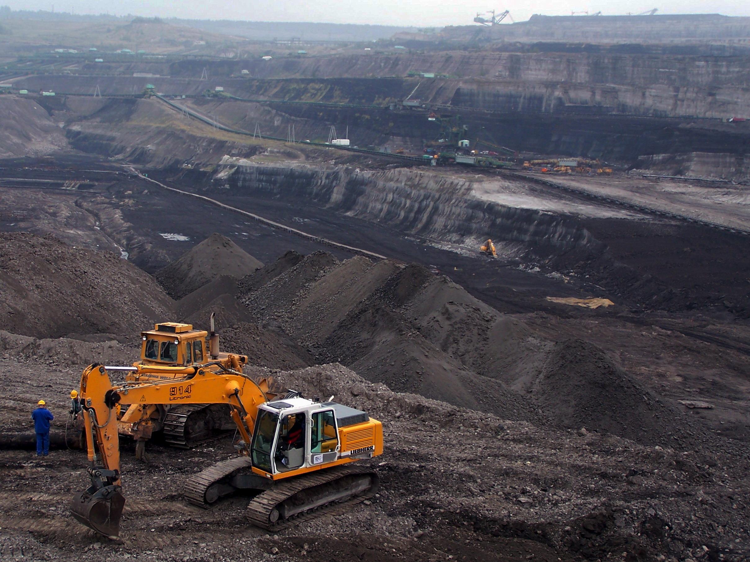 La mina de lignit de Turow, a Polònia   W.C.