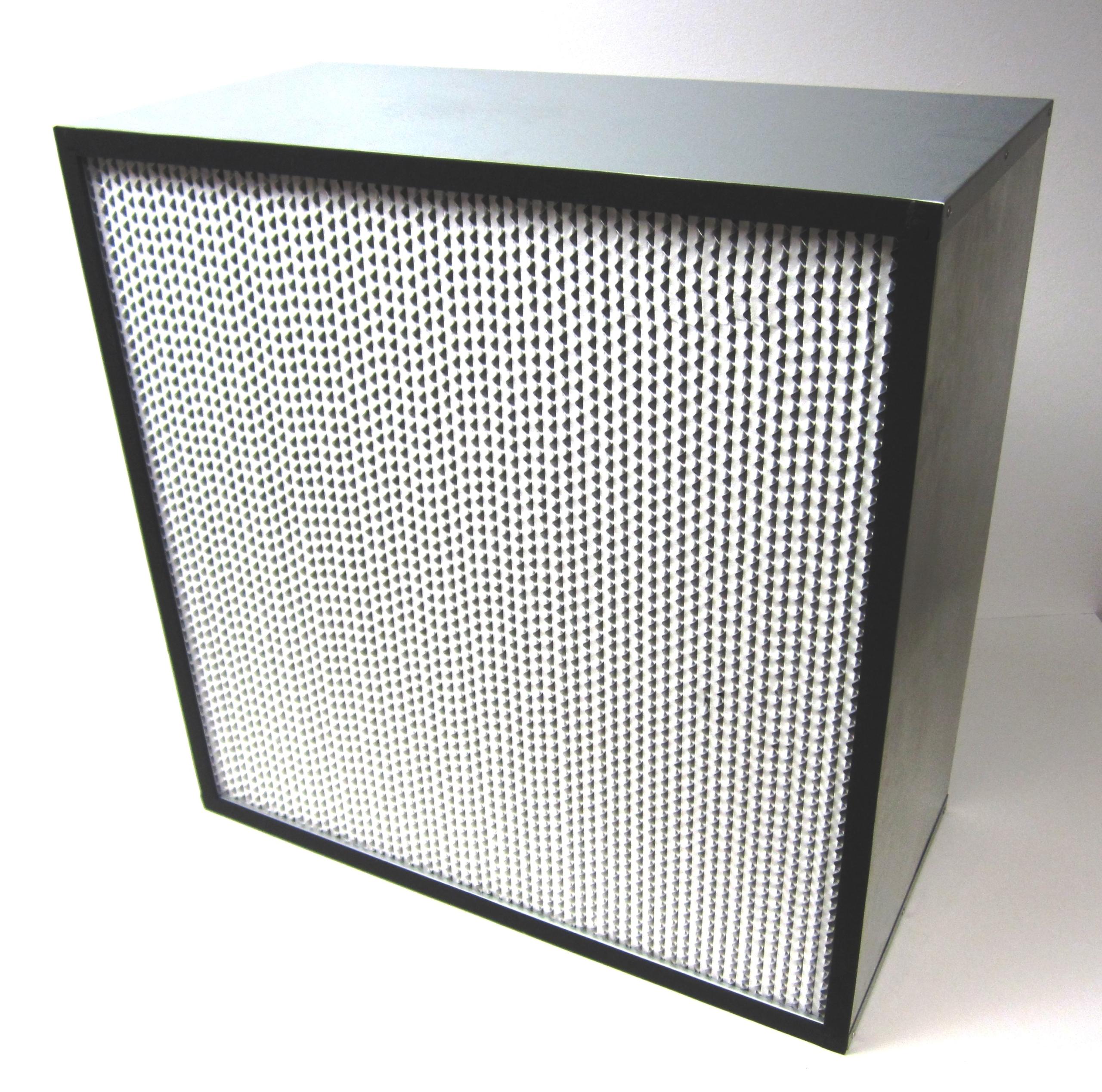 Un filtre HEPA | Wikimedia Commons