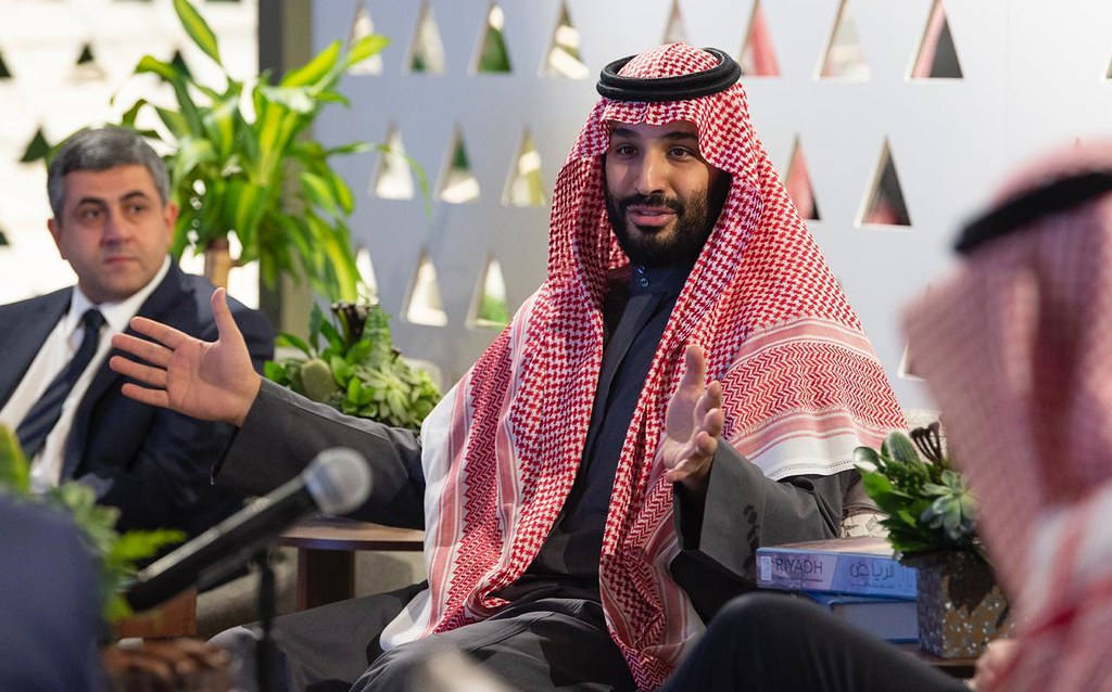 El príncep Mohammed bin Salman de l'Aràbia Saudita | Flickr
