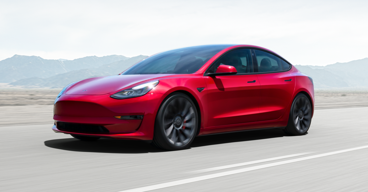 Un Tesla Model 3   Tesla